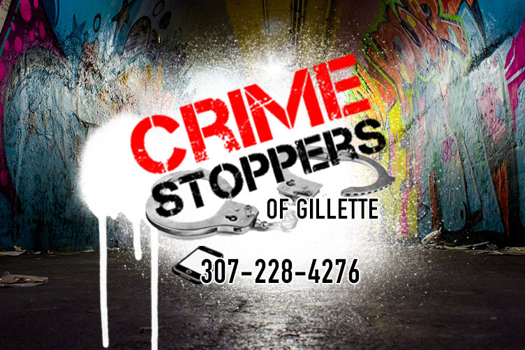 Crime Stoppers Logo on Graffiti Background