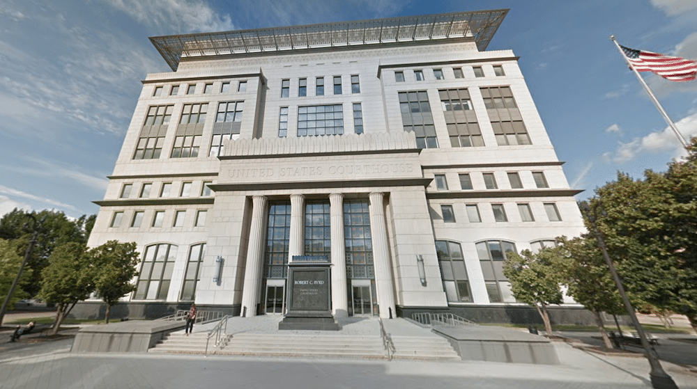 Blackjewel's bankruptcy, at least the public portion, has played out at the Robert C. Byrd U.S. Courthouse in Charleston, West Virginia (Google Street View).
