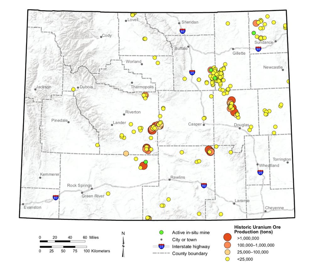 Uranium Map