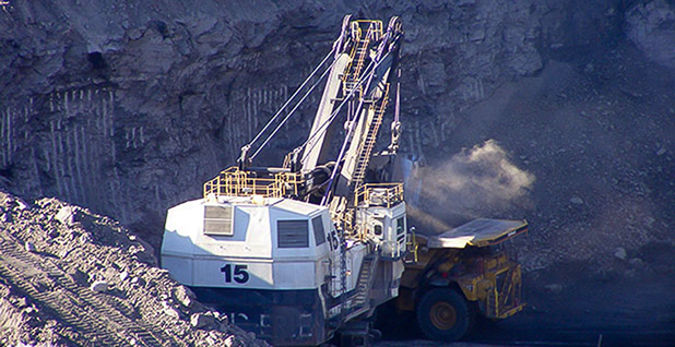 Coal mining on public tracts in the Powder River Basin. (H/t Bureau of Land Management/Flickr)