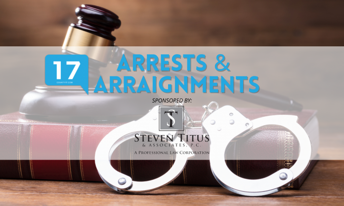 Arrests & Arraignments