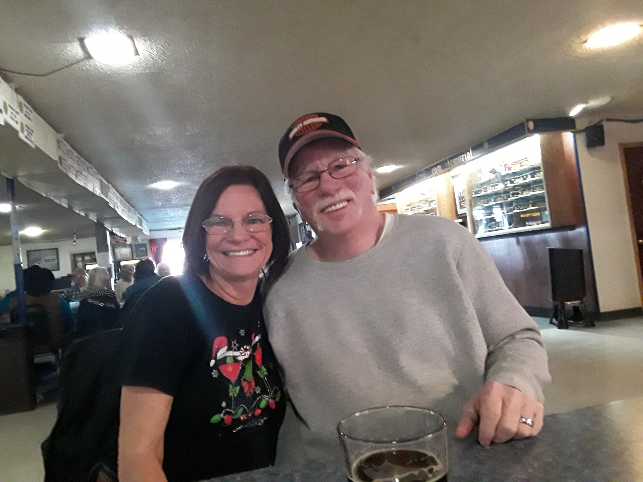 Brenda Aholt and her husband have been married for four years.
