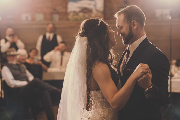 Brittany Squires met her husband in college and they were married in September 2020.