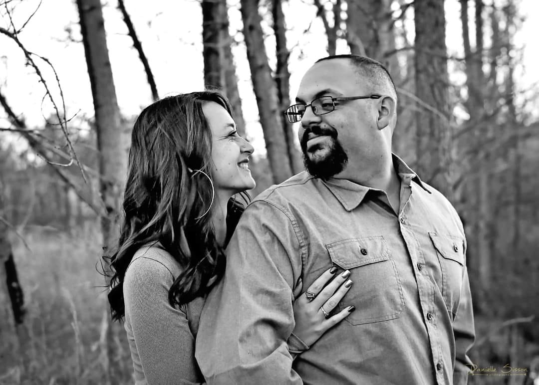 Brittney Caldwell and her husband met at the Gillette Airport and have been married for two years.
