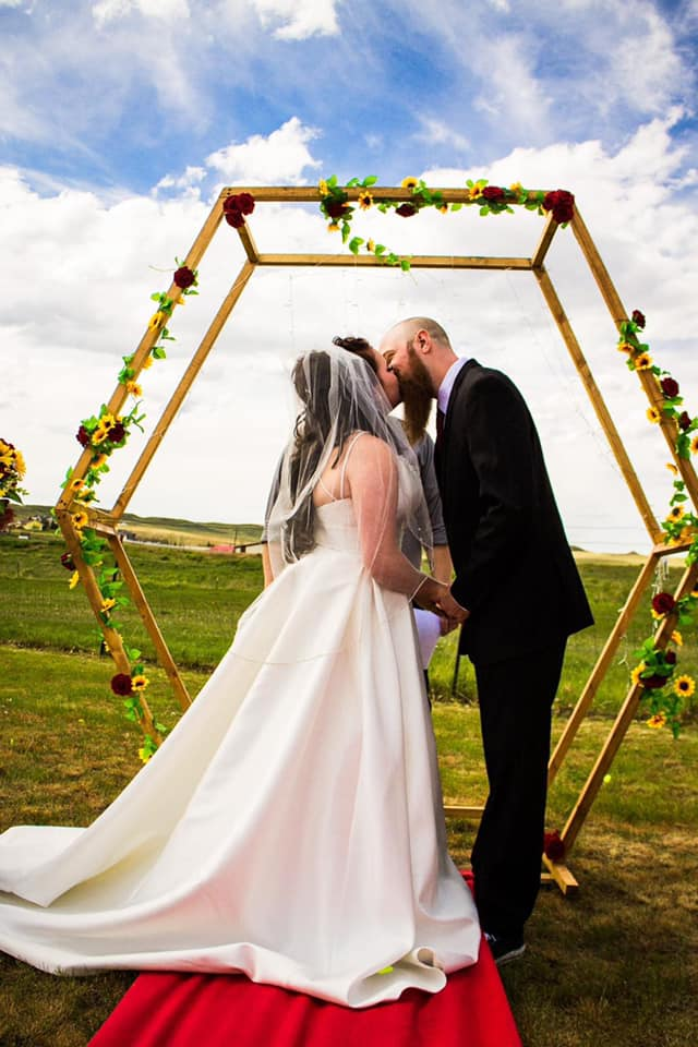 Crystal Wirth and her husband met at work and have been together for 3 years. They were married in 2020.