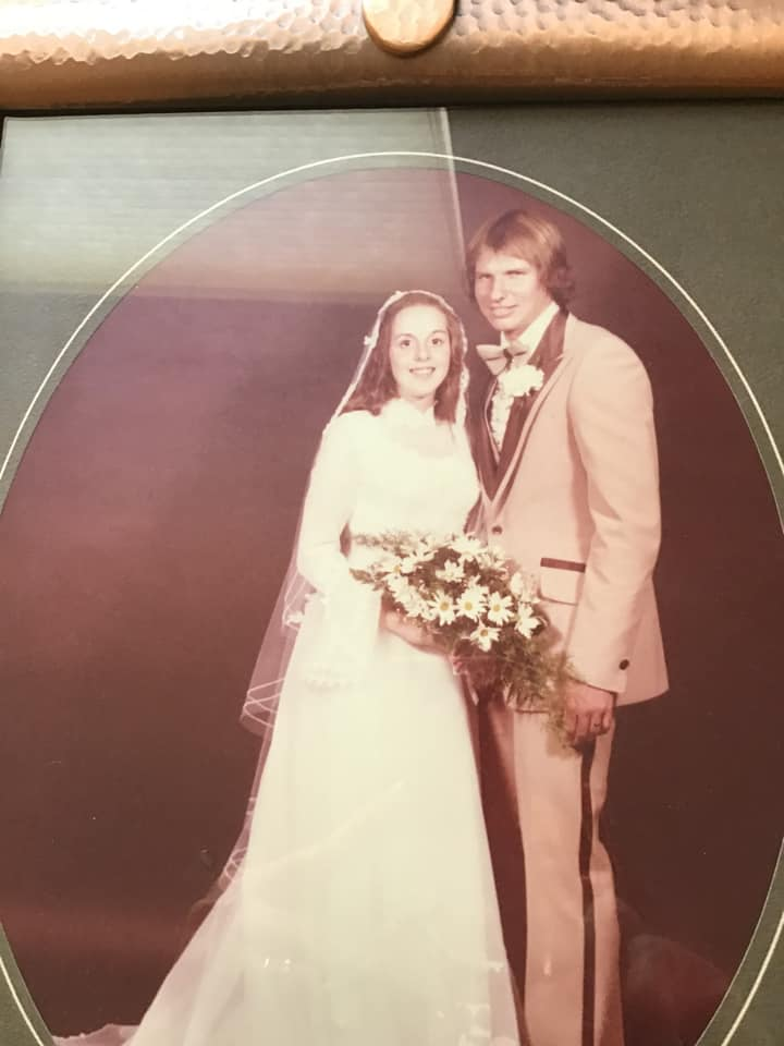 Jo Ann Hartos met her husband at the South Allegheny Tennis Court and they have been married for 42 years.