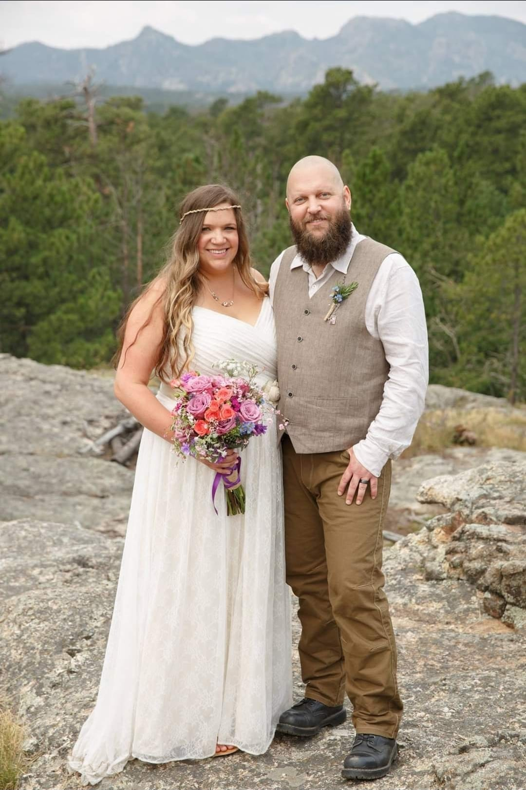 Kelsey Blake met her husband at the Sturgis rally in 2010. They have been married for three and half years.