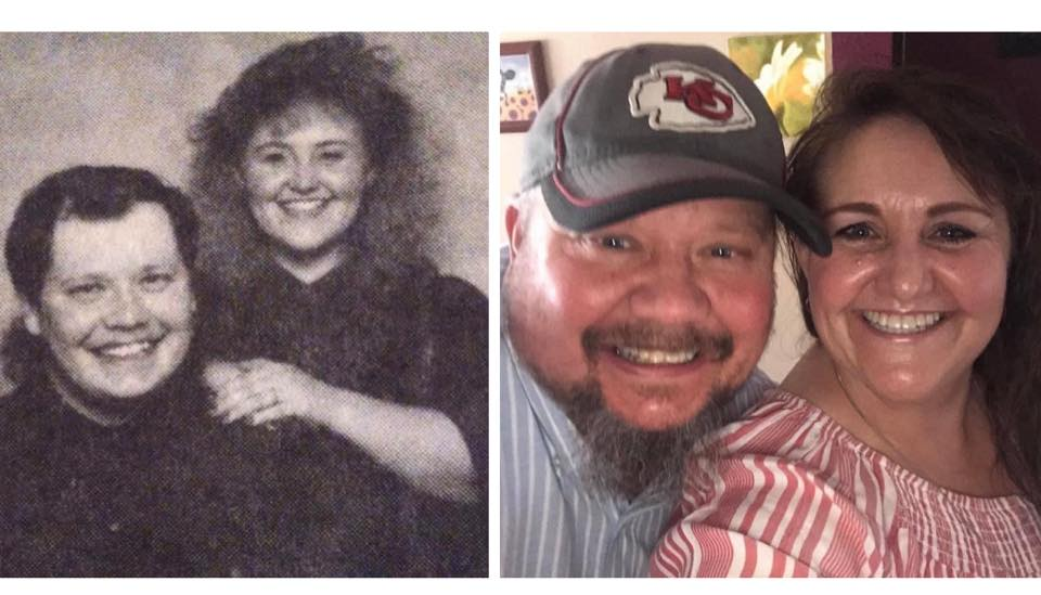 Kimberley Harris met her husband in 1993. They were married in 1994 and will celebrate their 27 years in July.