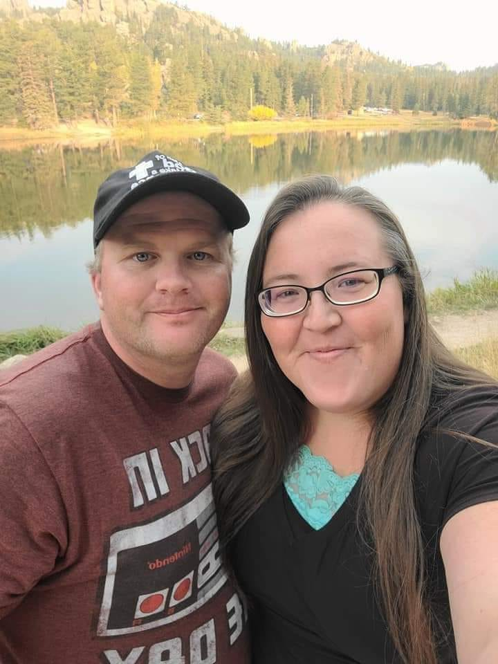 Krystan Wheeler met her husband while working at Don's Supermarket. They have been married for 15 years.