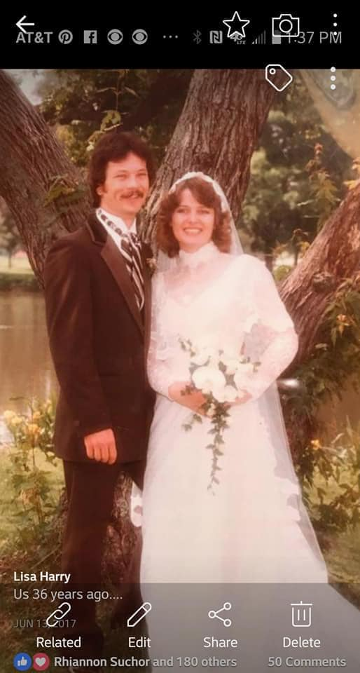 Lisa Harry met her husband in Casper. They have been married for 40 years.