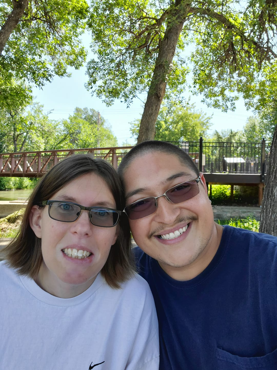 Nicole Carano met her husband at Walmart. They have been married for 10 years.