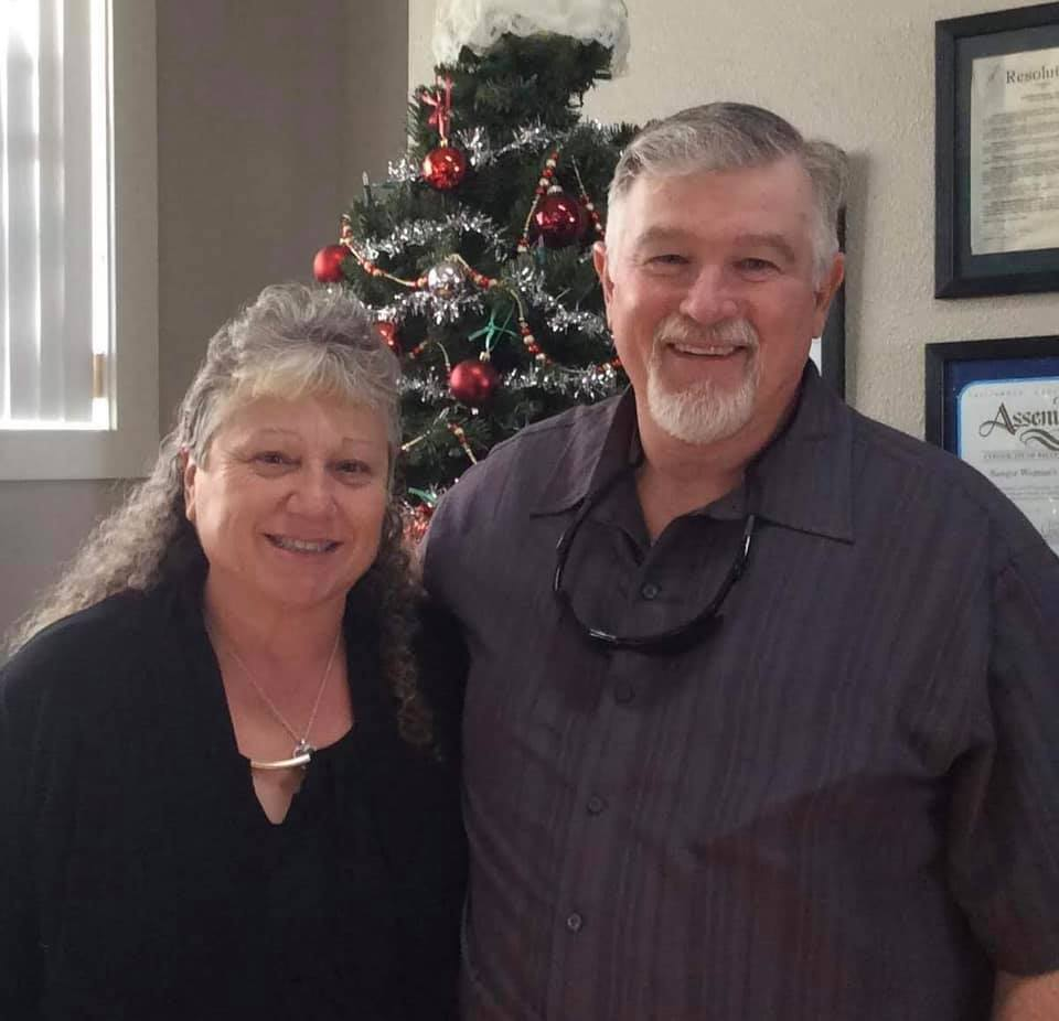 Rachael Kimberling met her husband in high school and they have been married for 43 years.