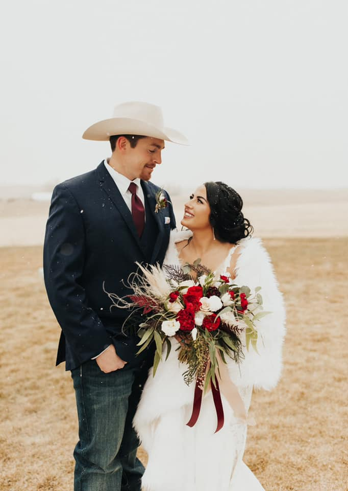 Sarah Pierce and her husband have been together for 6 years. They were married in December 2020.