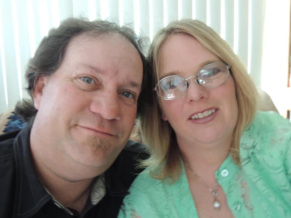Sharon Rogge-Nelson met her husband 27 years ago at their place of employment. They have been married 25 years.