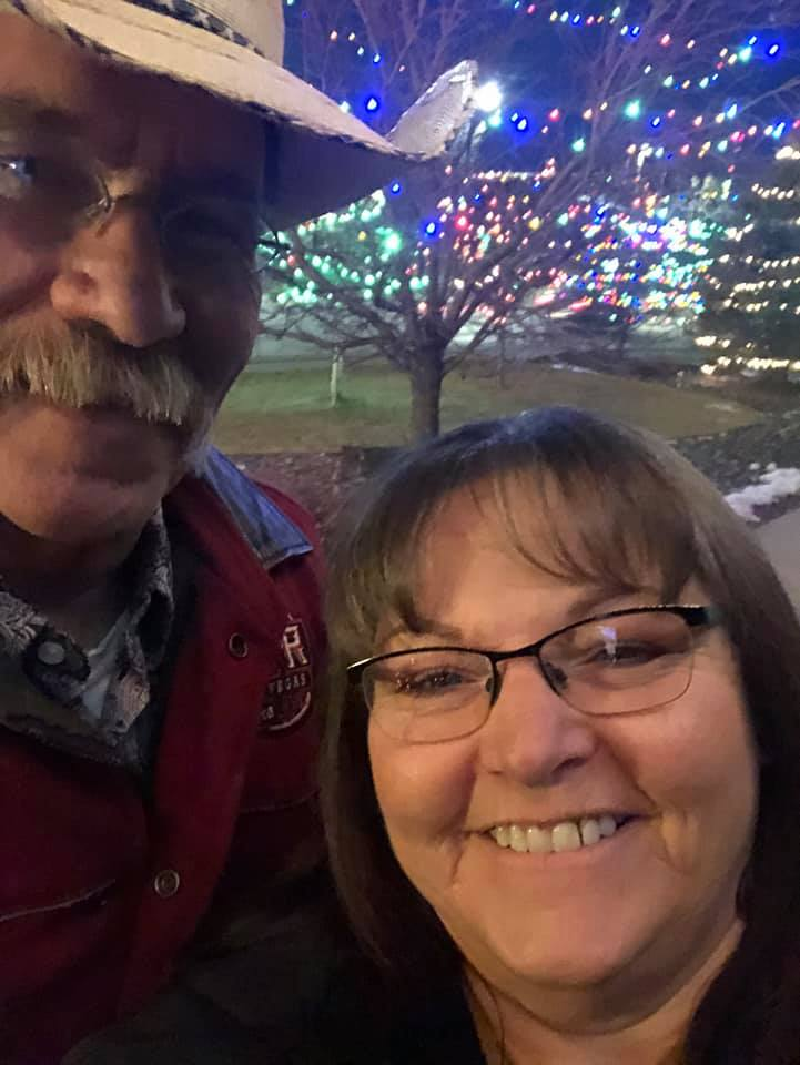 Tanya Holbrook Reynolds met her husband in 1983 at the Hulett Rodeo. They have been married for 37 years.
