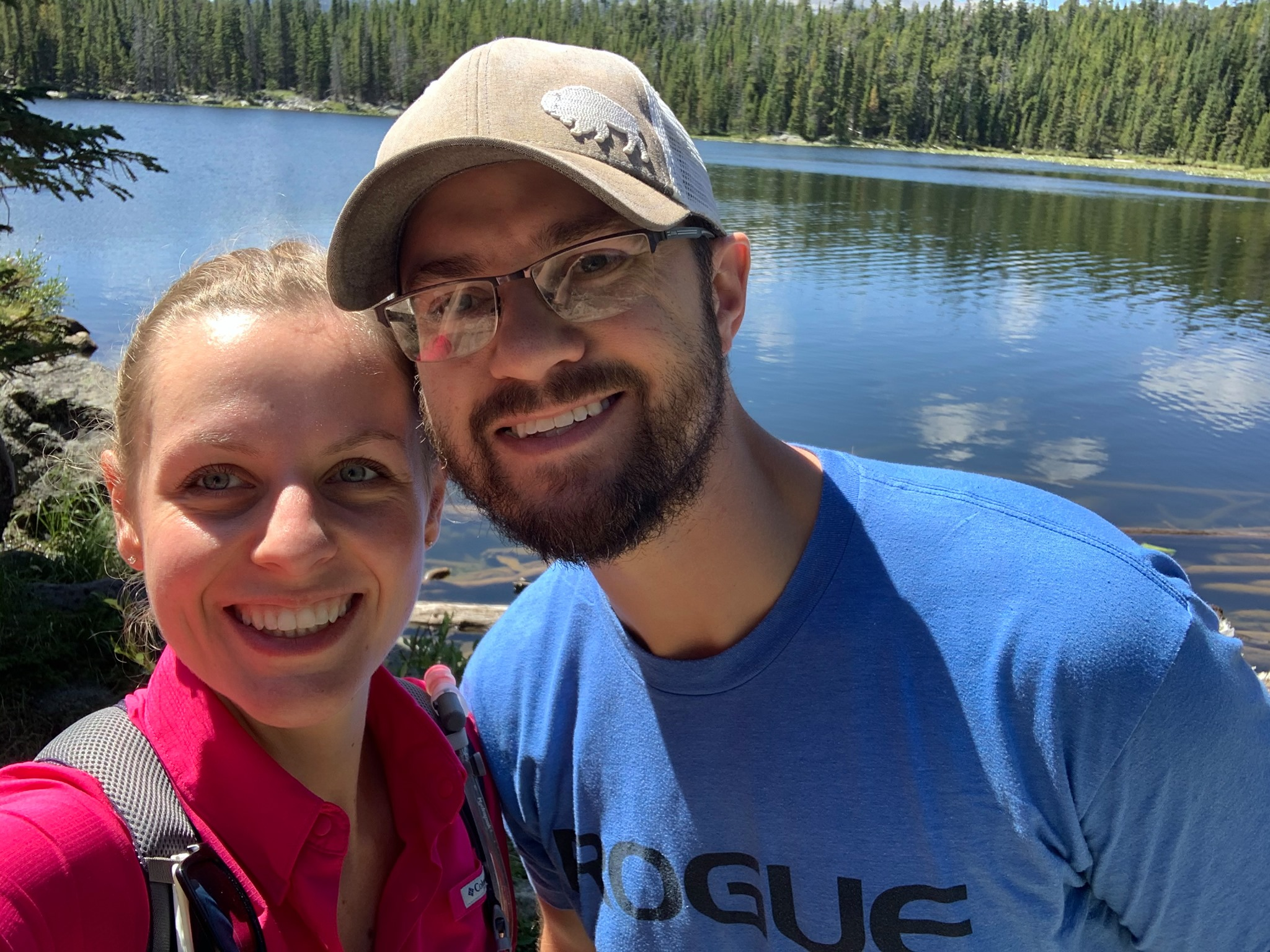 Tyler Stearns met and married his wife in 2014.