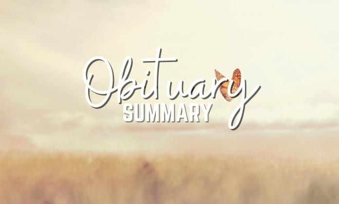 Obituary Summary