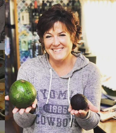 Stacey Hart still does her cooking demos from the road on Stacey's Tiny Kitchen Facebook page.
