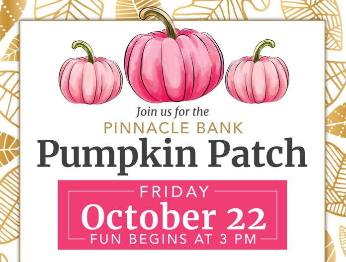 Join us for the Pinnacle Bank Pumpkin Patch