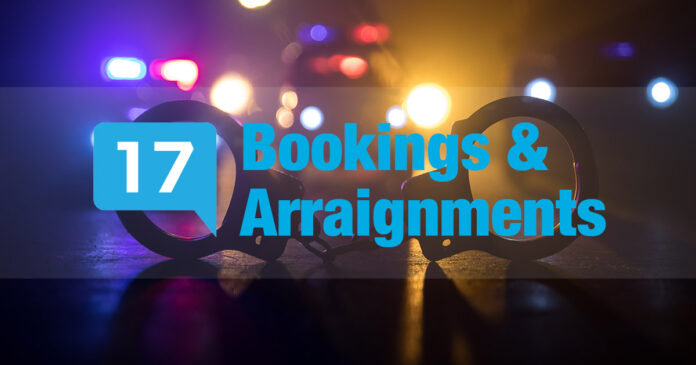 Bookings & Arraignments